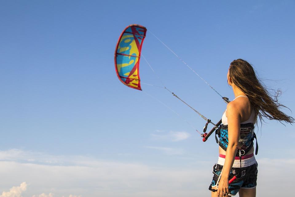 Kitesurfing Kiteboarding Kitesurfer Montenegro
